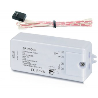 Диммер SR-2402 (12-36V, 96-288W, Metal-Touch)